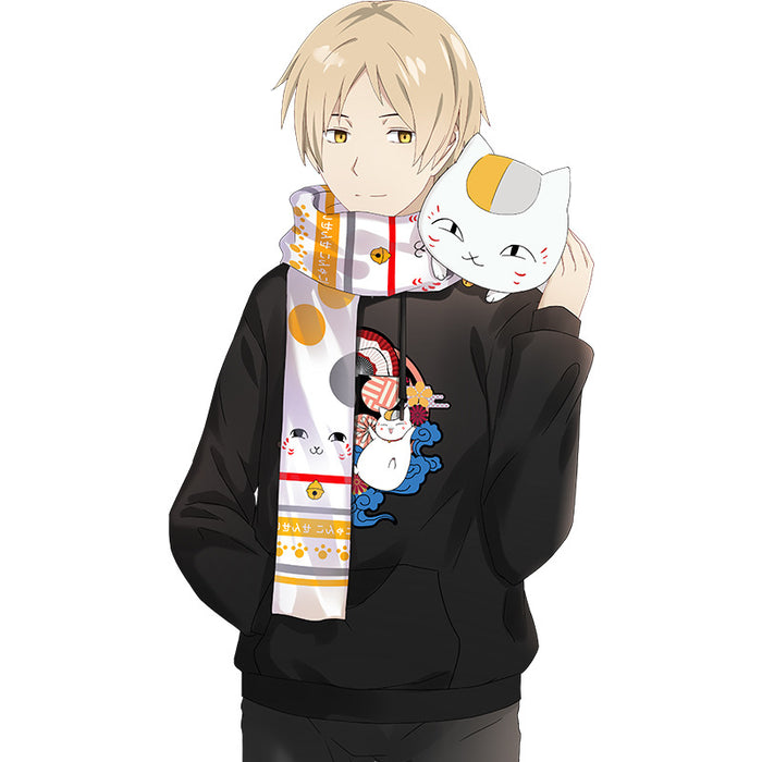 Society Cat Teacher Wild Collar Two Yuan Autumn And Winter Anime Surrounding Scarf