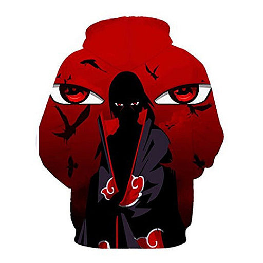 Explosion Models 3D Digital Printing Naruto Hooded Sweater