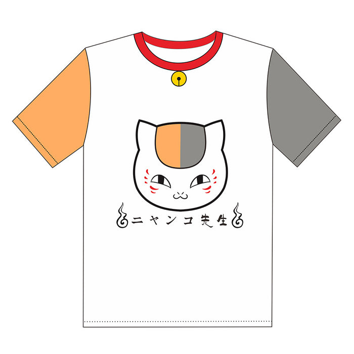 Natsume Short-Sleeved Cat Teacher Two Yuan Surrounding Anime T-Shirt
