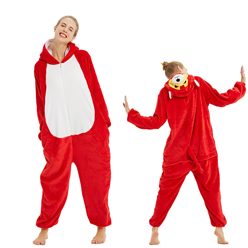 New Cartoon Animal Pajamas Sky Star Lion Fox Tiger Anime Unicorn Onesies