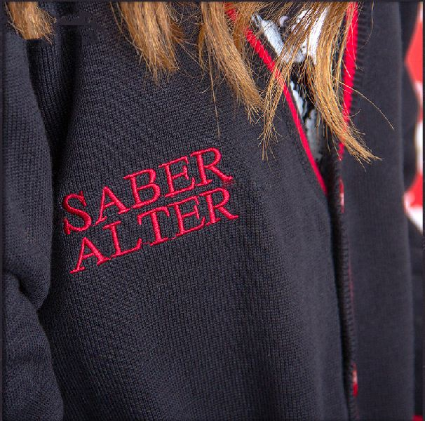 Society Two Yuan Anime Around Clothes Black Saber My Sweater