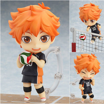 Five-Star Anime Q Version Clay Volleyball Juvenile Xiangxiang Movable Face Change Doll