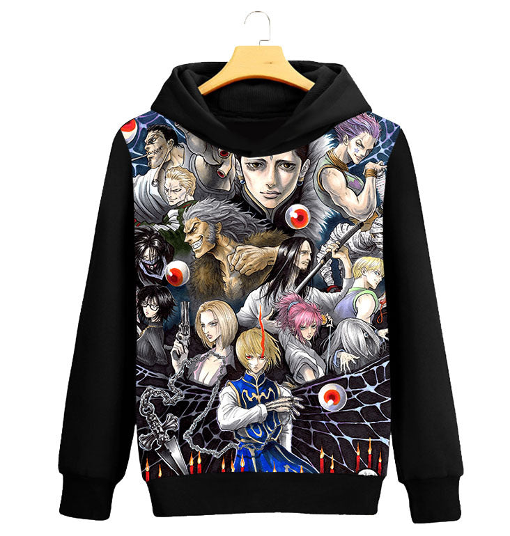 Full-time Hunter Sweater Long Sleeve Jackie Jacket Black Casual Hooded Clothes