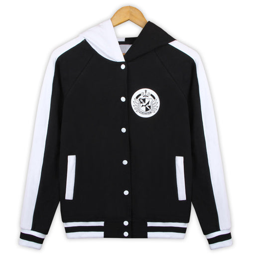 Bear Japanese Danganronpa Game Zipper Anime Hooded Jacket