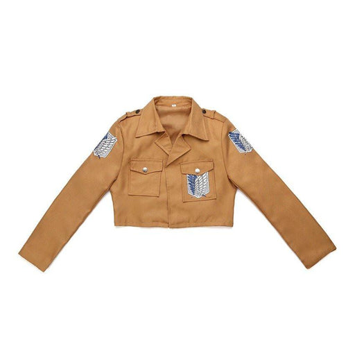 Attack on Titan Recon Corps Anime Cosplay Jacket - Otakupicks