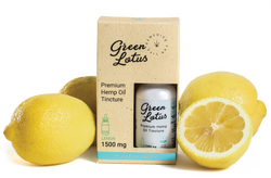 Green Lotus | Full-Spectrum | Premium Organic Lemon CBD Tincture