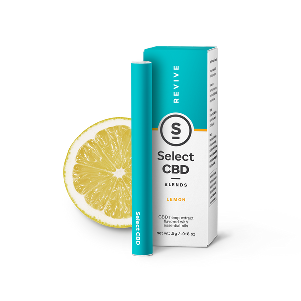 Select | Revive | Lemon CBD Vape Pen | 250mg | CLEARANCE
