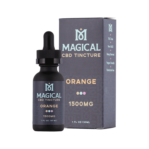 Magical | Gluten Free, Vegan, Non-GMO | Orange CBD Tincture