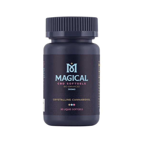 Magical | Gluten Free, Vegan, Non-GMO | CBD Softgels