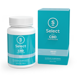 Select | Rest | CBD Gel Capsules | 1000mg