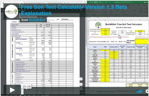 Free Soil Test Calculator SpreadSheet Beta Version