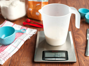 List of ingredients weight - Grams Per Cup