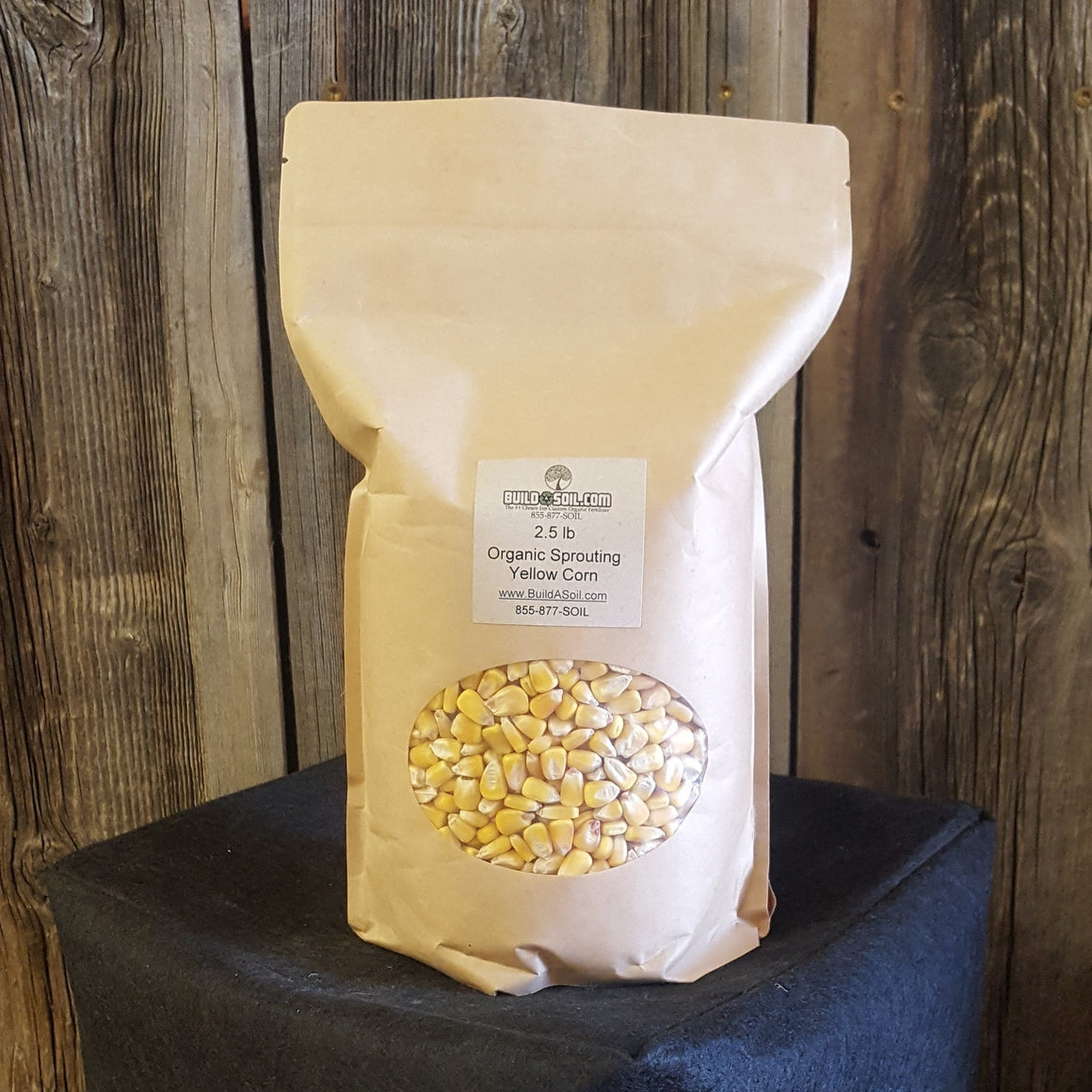 Yellow Corn Seed - Heirloom Organic For Sprouted Seed Tea