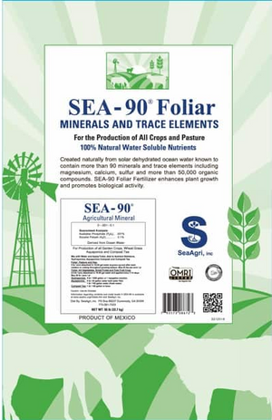 Sea-90 Ag Mineral Foliar (Free Shipping)