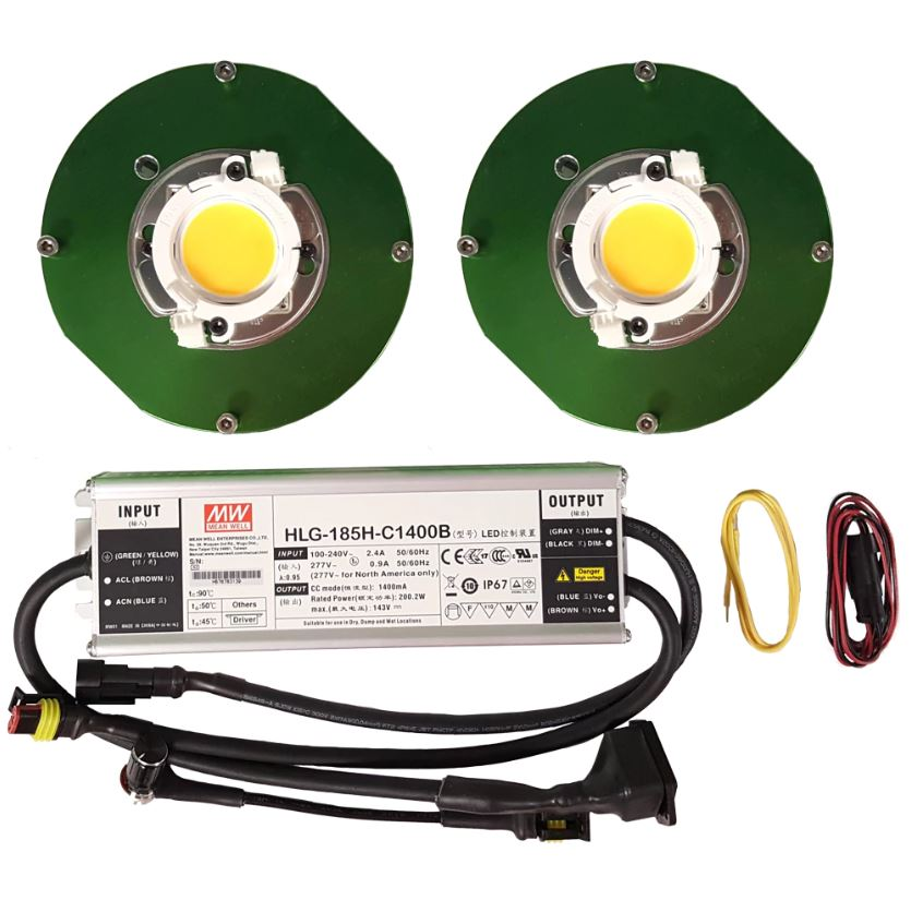 Timber LED Cree (2) COB Kit - 100W