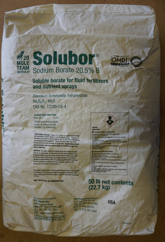 Soluble Boric Acid