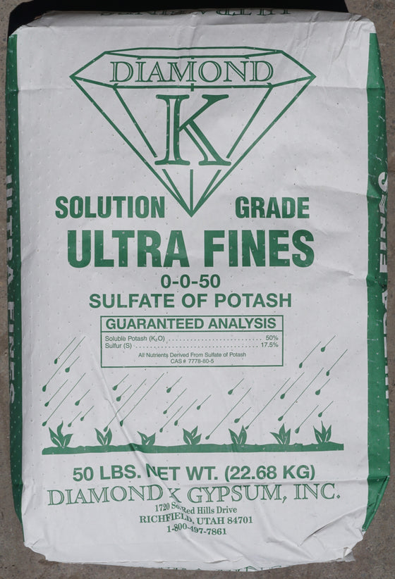 Diamond K Potassium Sulfate - Solution Grade