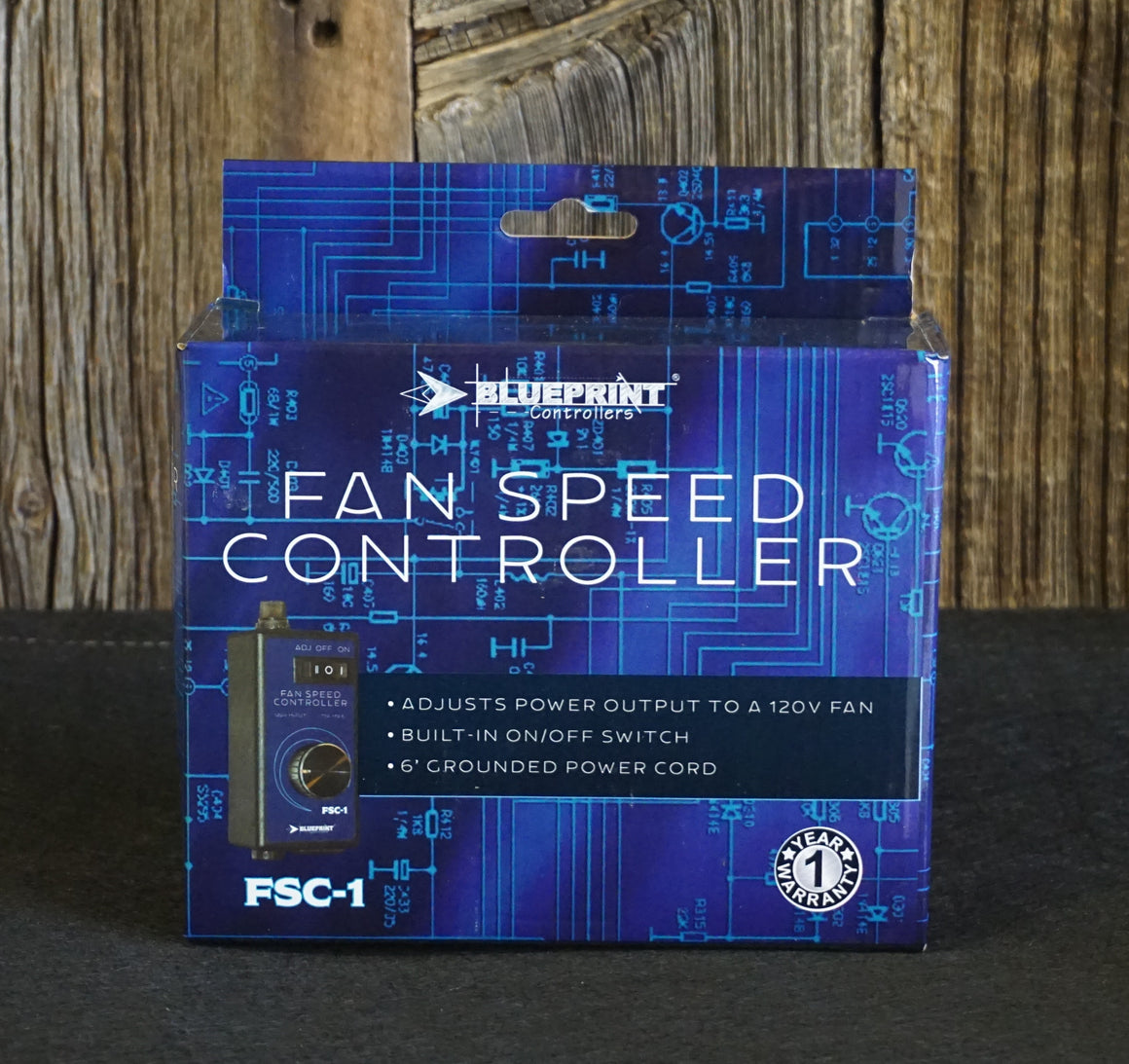 Blueprint Fan Speed Controller