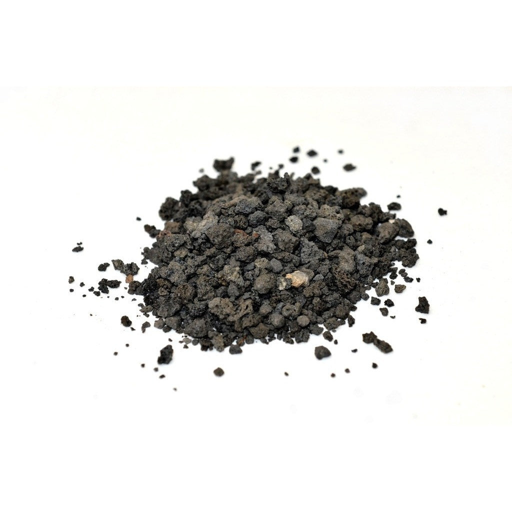 small black lava rock for sale with lava rock dust