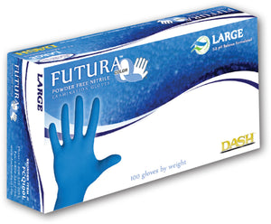 Futura Color Q Nitrile Powder Free Gloves