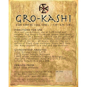 Gro Kashi - Probiotic Amendment