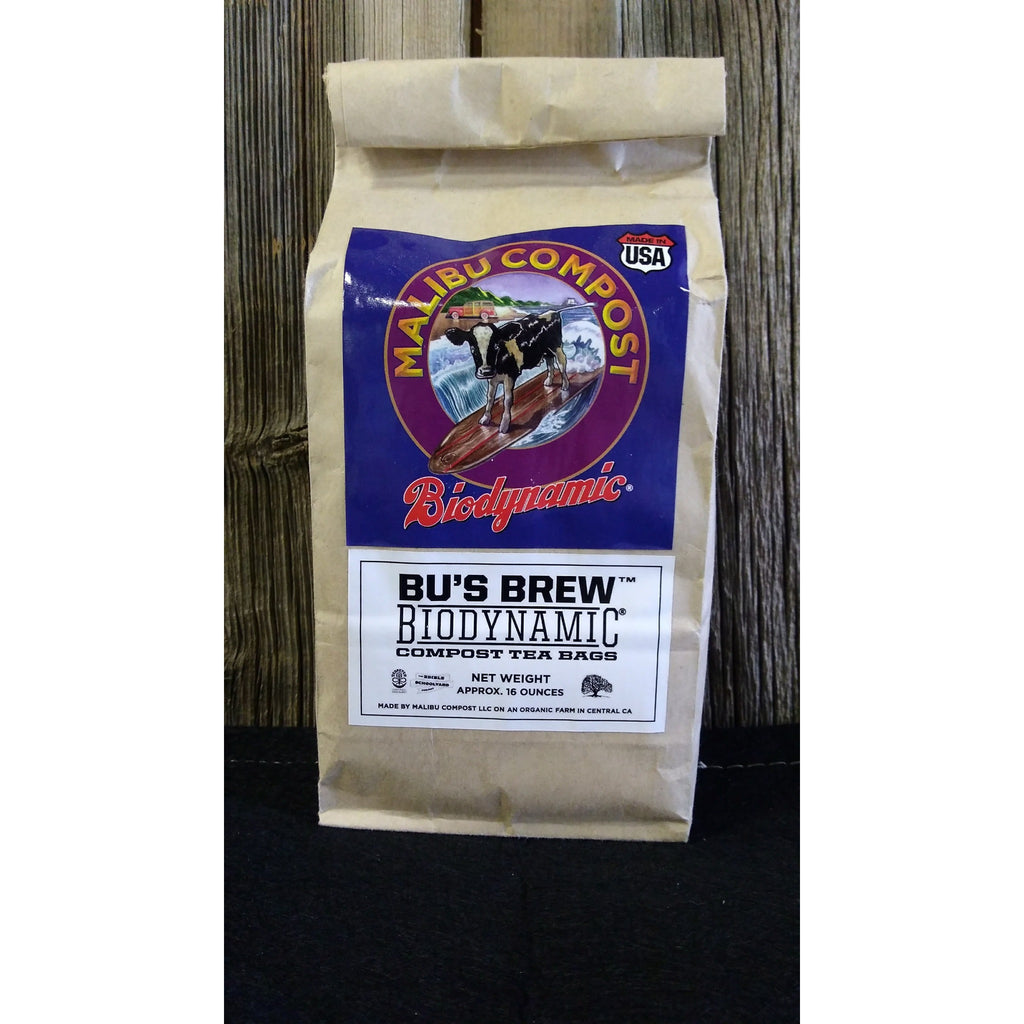 Malibu Compost Bu's Brew Biodynamic Compost Tea Bags