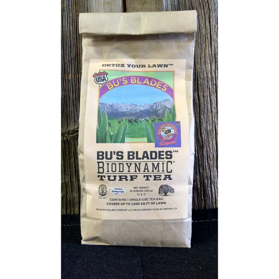 Malibu Compost Bu's Blades Biodynamic Turf Tea Bag