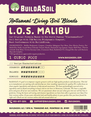 Malibu Compost For Sale with Living Soil