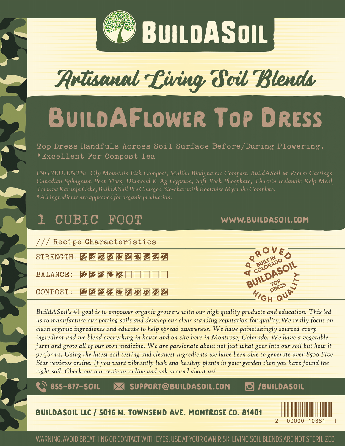 Build-A-Flower Top Dress Kit