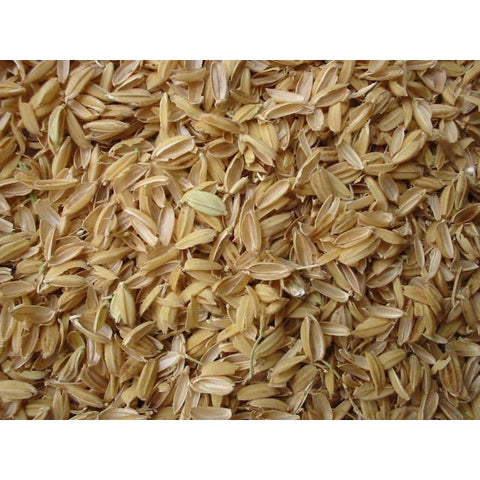 Rice Hulls - Replacement For Perlite