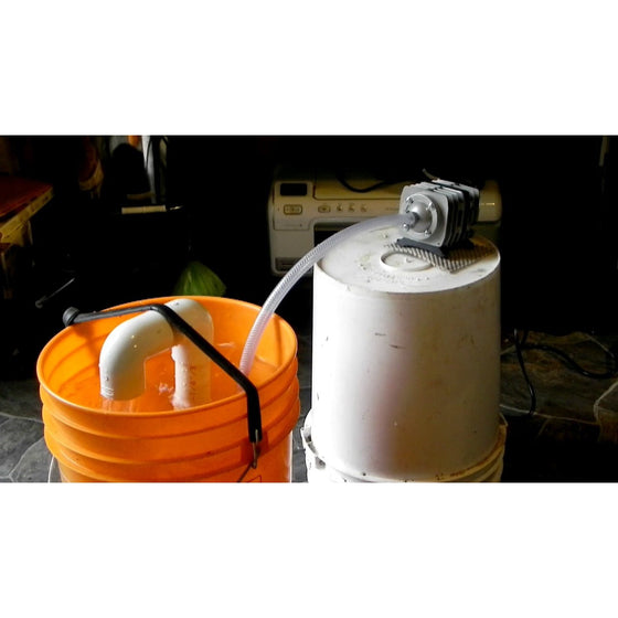 Compost Tea Brewer - 5 Gallon Mini Microbulator