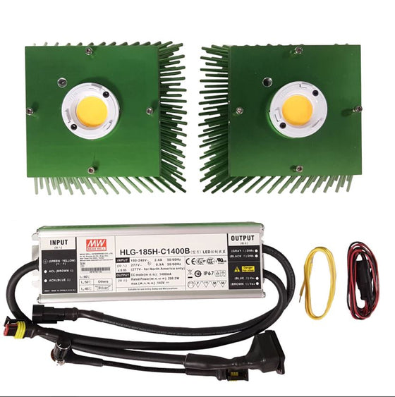 Timber LED Vero (2) COB Kit - 200W