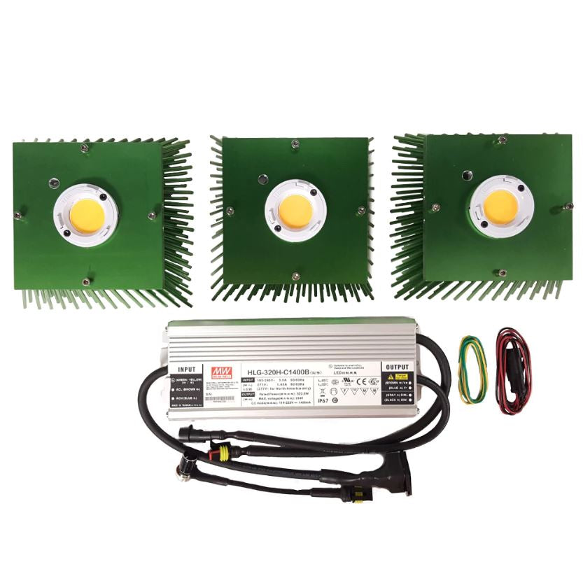 Timber LED Vero (3) COB Kit - 300W