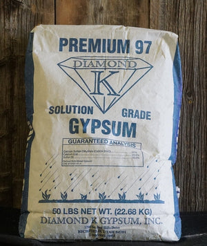 Premium 97 Diamond K Gypsum 50 Pound