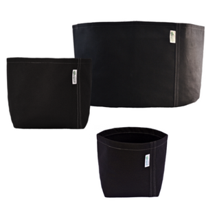 Geo Pot - Black - Without Handles
