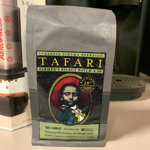 Tafari Coffee - Ras Farms Small Batch Ethiopian Whole Bean