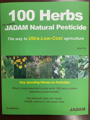 Jadam 100 Herbs - For Making Jadam Natural Pesticides