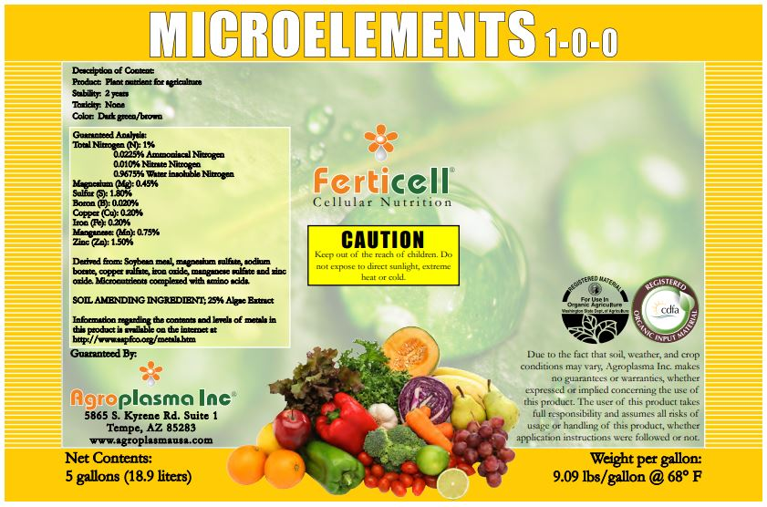 Microelements 1-0-0