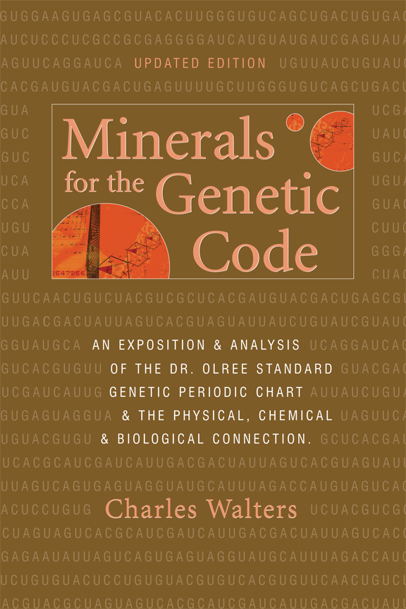 """Minerals for the Genetic Code"""