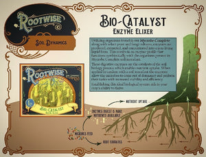 Rootwise Enzyme Elixer Label