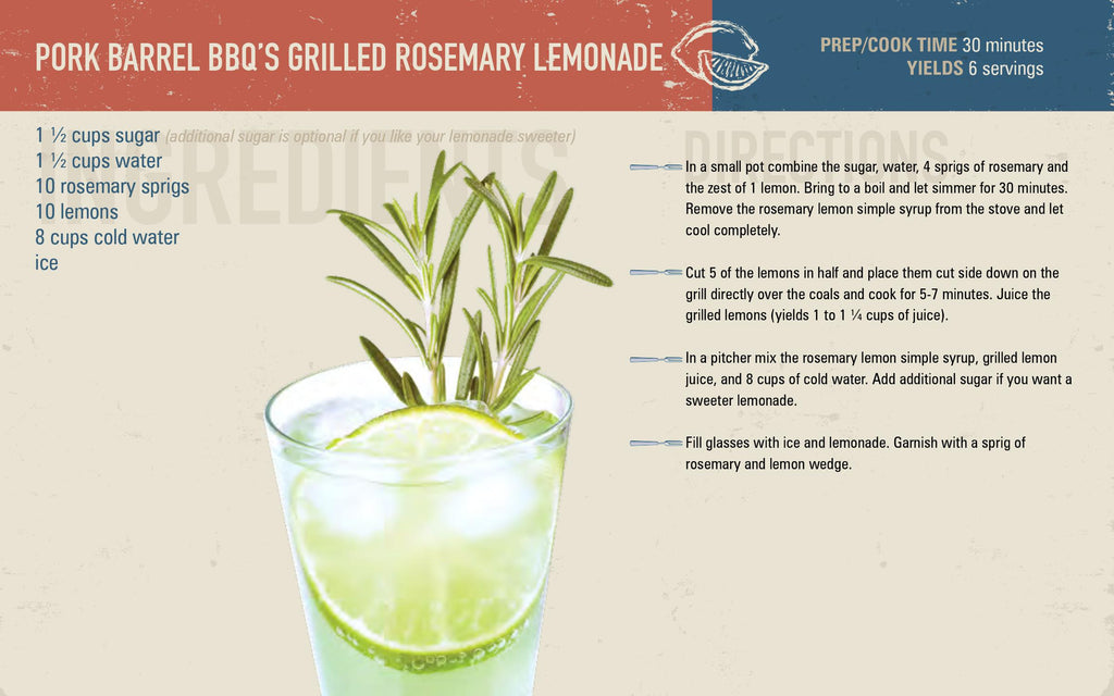 Grilled Rosemary Lemonade Tailgating Recipe 1024