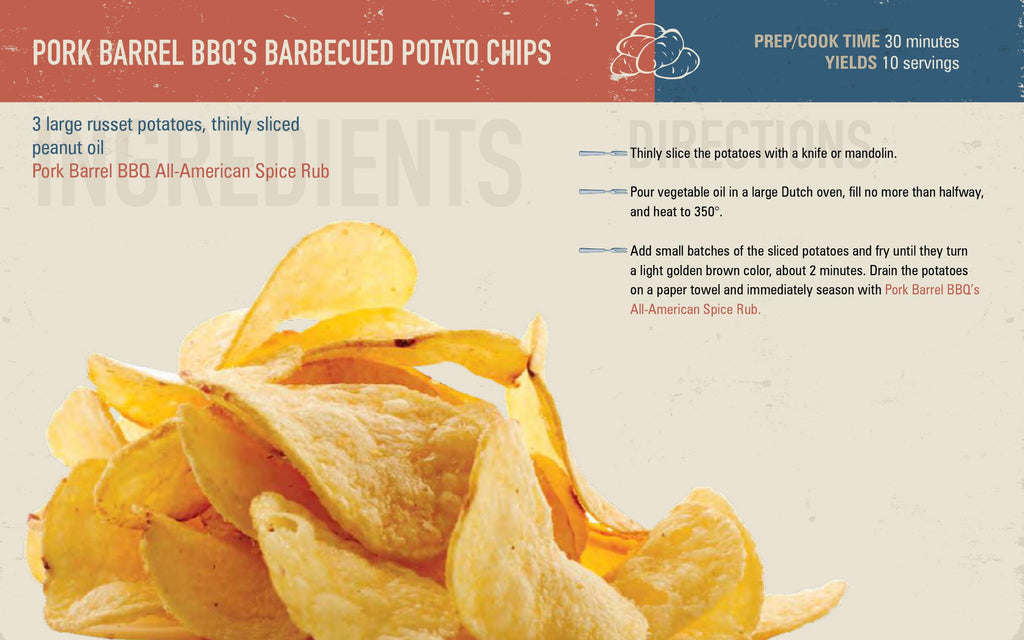 Grilled Potato Chip Tailgate Recipe
