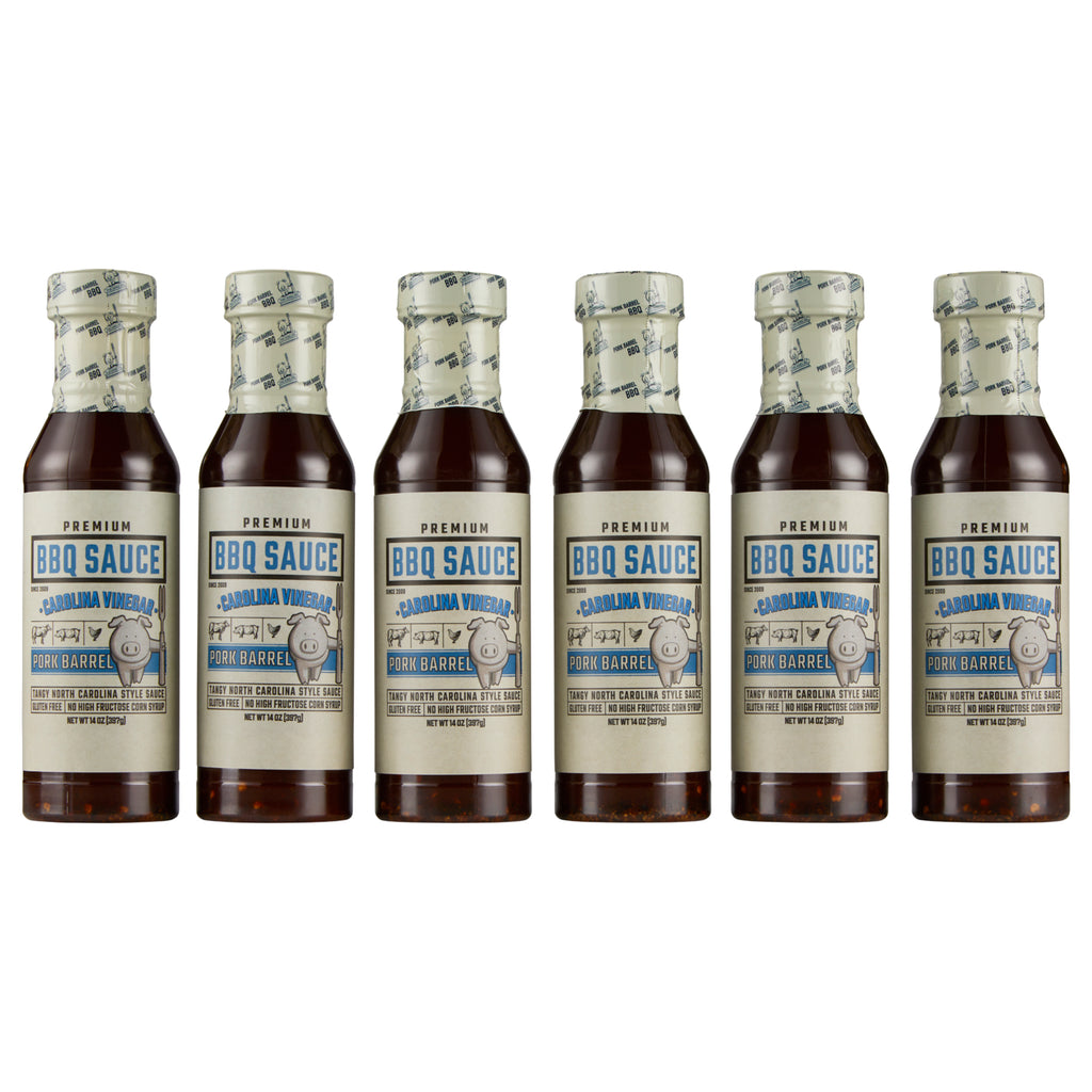 Carolina Vinegar BBQ Sauce - 6 Pack Case
