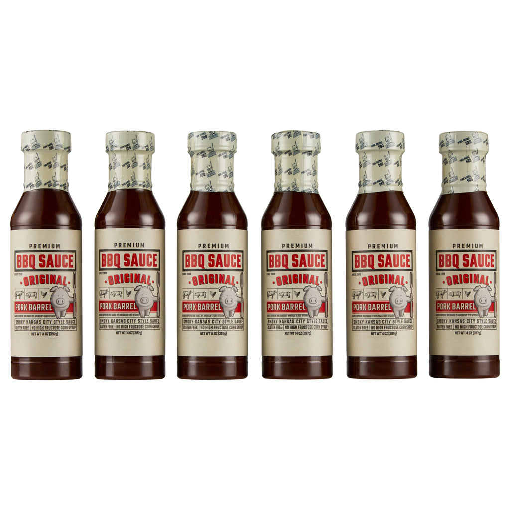 Original BBQ Sauce - 6 Pack Case