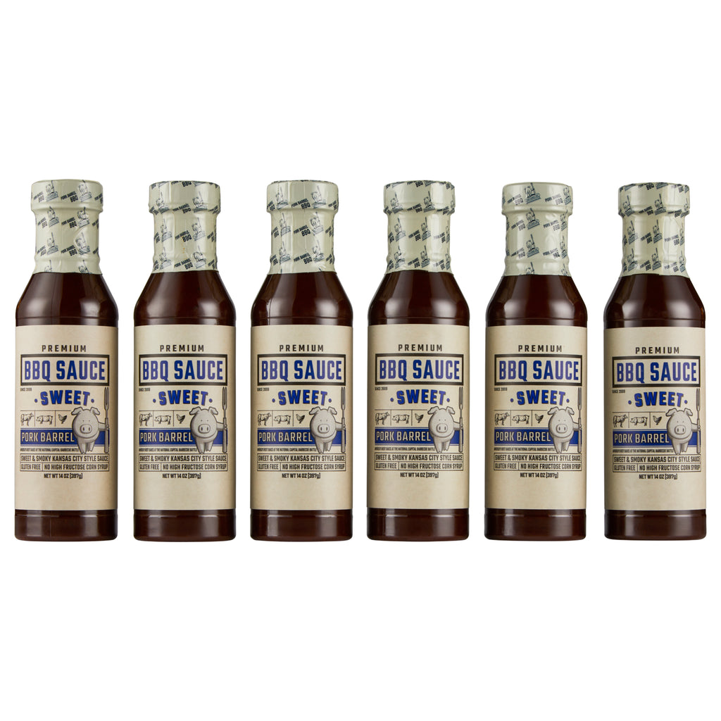 Sweet BBQ Sauce - 6 Pack Case