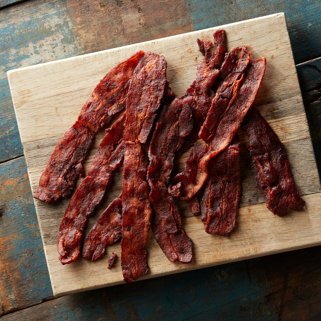Sweet BBQ Bacon Jerky - 6 Bag Pack