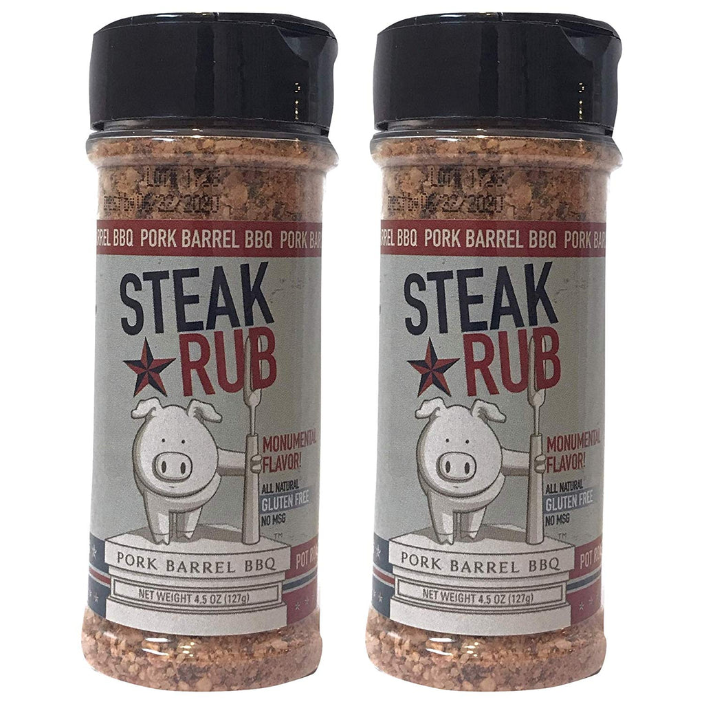 Steak Seasoning - Steak BBQ Rub - 2 Pack - 9 oz Total Steaks Seasoning Pack