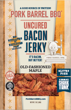 "Bacon Jerky ""Whole Hog"" Sampler Pack-Pork Barrel BBQ"