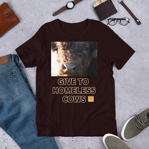 GIVE TO HOMELESS COWS