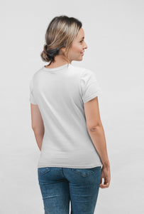 Love - Short Sleeve White Color T-shirt for Girls - stylewati.com